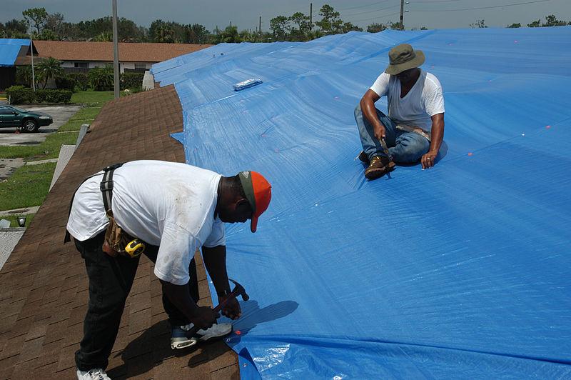 emergency roof repair tarp services - santa barbara, san luis obispo, santa maria, arroyo grande